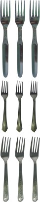 Homedesires Stainless Steel Dessert Fork, Baby Fork, Fruit Fork Set