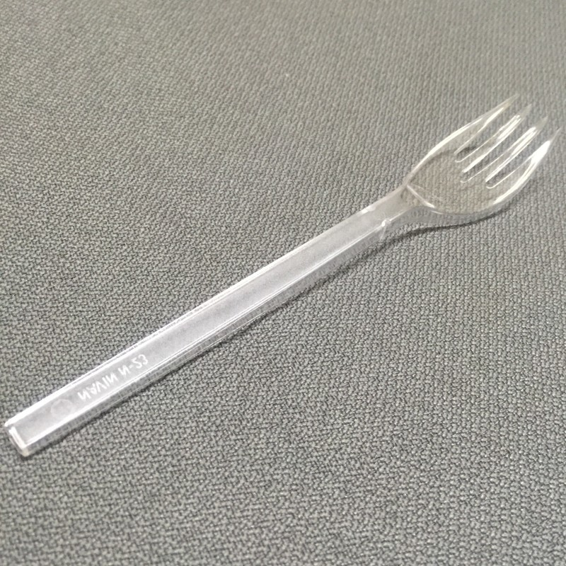 CLASSY Disposable Plastic Serving Fork