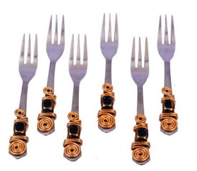 JewelKraft Designs Stainless Steel Fruit Fork