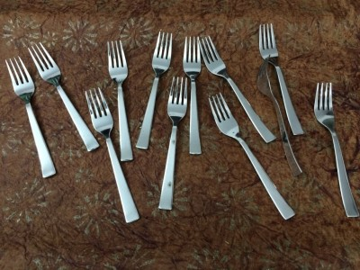 Bharat Stainless Steel Baby Fork Set