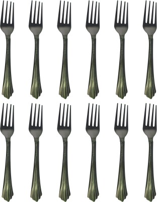 Homedesires Steel Baby Fork Set