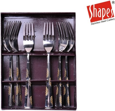 Shapes Stainless Steel Table Fork Set