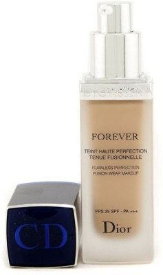 Christian Dior Diorskin Forever Flawless Perfection Fusion Wear Makeup SPF 25 Foundation