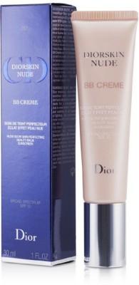 Christian Dior Diorskin Nude BB Creme Nude Glow Skin Perfecting Beauty Balm SPF 10 Foundation