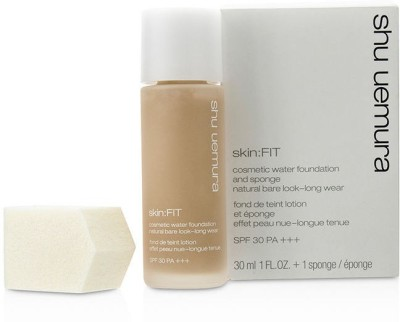 Shu Uemura Skin:Fit Cosmetic Water Foundation and Sponge SPF30 Foundation