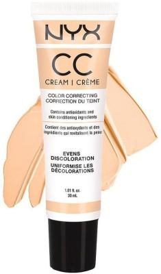 Nyx cc cream - evens discoloration Foundation