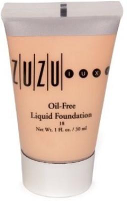 ZuZu Luxe by Gabriel Cosmetics Oil-Free Liquid Foundation L-16 Medium/Dark Skin 18 SPF - 1 oz. Foundation