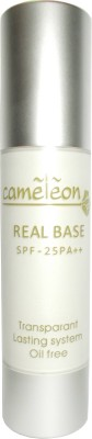 Cameleon Real Base SPF - 25 PA++ Transparant Lasting System Oil Free Foundation