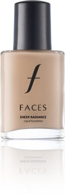 Faces Sheer Radiance Liquid  Foundation