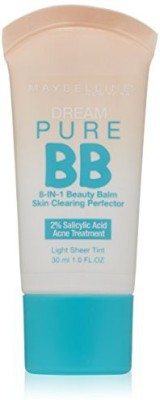 Maybelline Dream Pure BB Cream Skin Clearing Perfector Foundation
