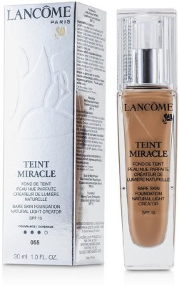 Lancome Teint Miracle Bare Skin Foundation Natural Light Creator SPF 15 Foundation