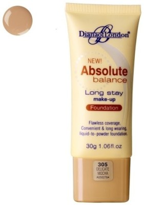 Diana of London Absolute Balance Long Stay Make Up Foundation305Delicate Mocha 30 GM Foundation