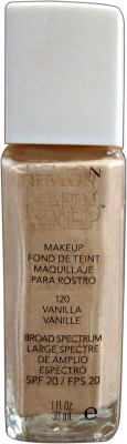 Revlon Nearly Naked Foundation(Vanilla-120, 30 ml)