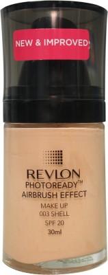 Revlon Photo Ready Air Brush Effect Make Up Spf 20 Shell Foundation