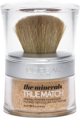 L,Oreal Paris True Match Mineral Foundation(Honey Glow - N6)