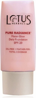 Lotus Pure Radiance Matte-Glow Daily  Foundation