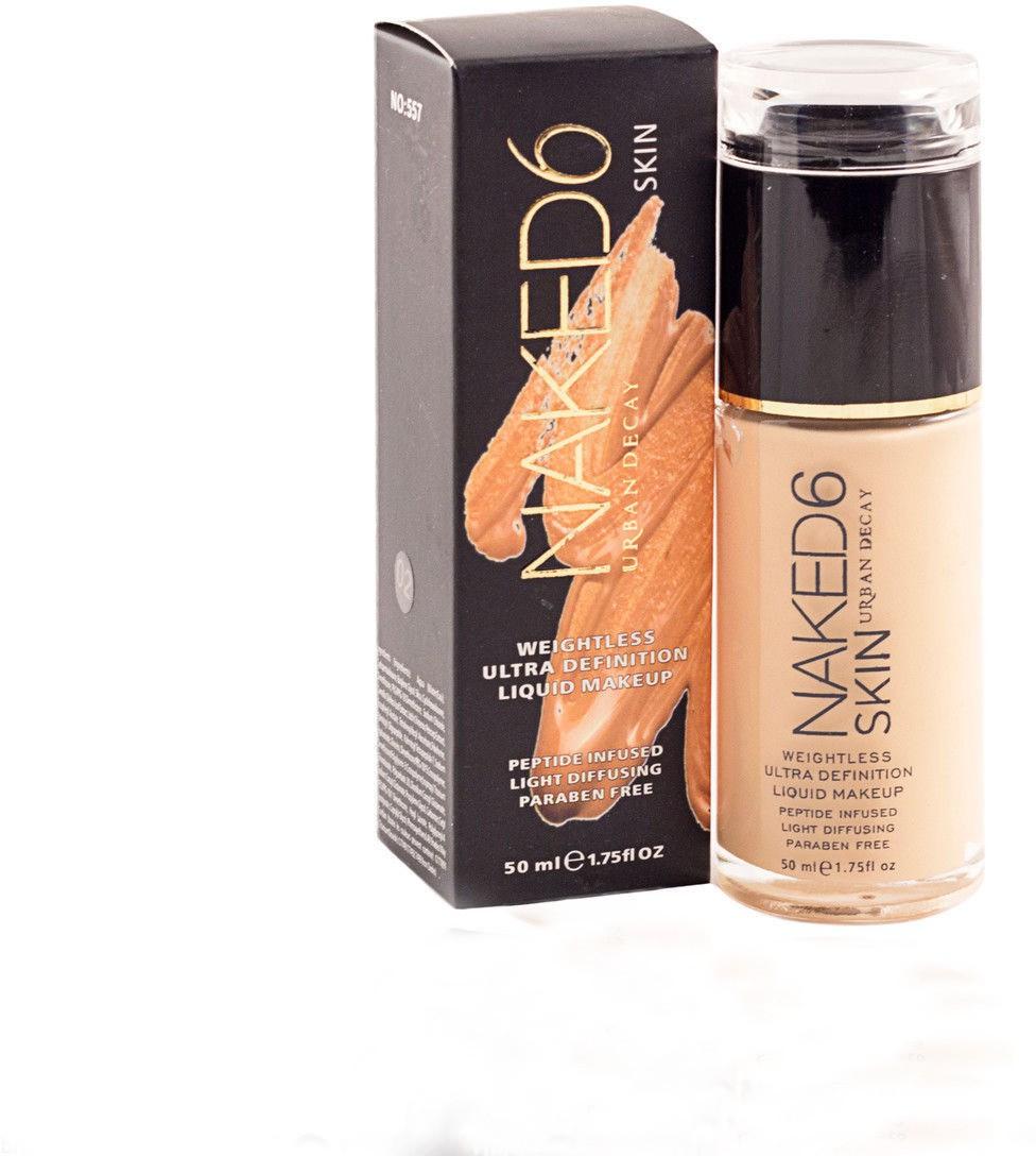 Naked 6 Urban Decay Liquid Skin  Foundation(Neutral, 50 ml)