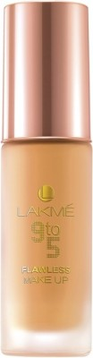 Lakme 9 to 5 Flawless Makeup Foundation(Shell, 30 ml)
