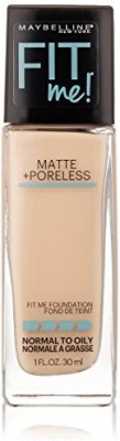 Maybelline Fit Me Matte Plus Poreless Foundation Makeup Foundation