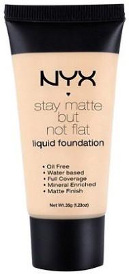 NYX stay matte but not flat Foundation