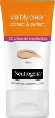 Neutrogena visibly clear correct & perfect cc cream(made in france) Foundation