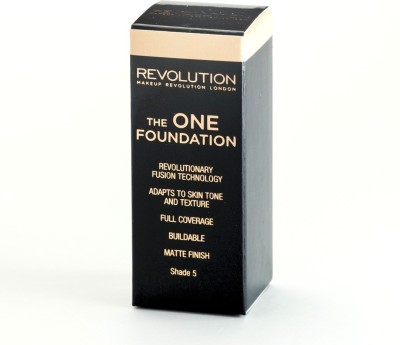Makeup Revolution London The One Shade 5 Foundation