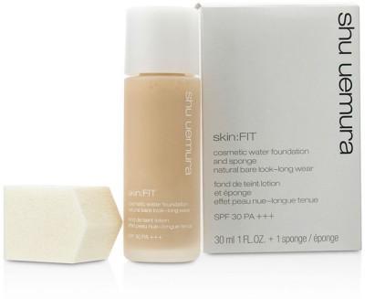 Shu Uemura Skin:Fit Cosmetic Water Foundation and Sponge SPF30 Foundation