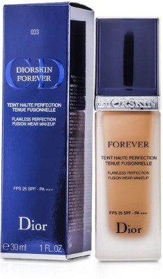 Christian Dior Forever Flawless Perfection Fusion Wear Makeup SPF 25 Foundation