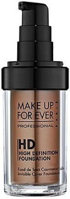 Make Up For Ever HD Invisible Cover  Foundation(175 Café)