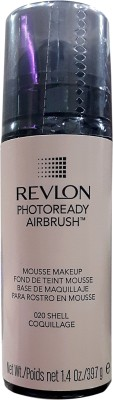Revlon Photoready Airbrush Mousse Foundation(Shell-020, 39.7 g)