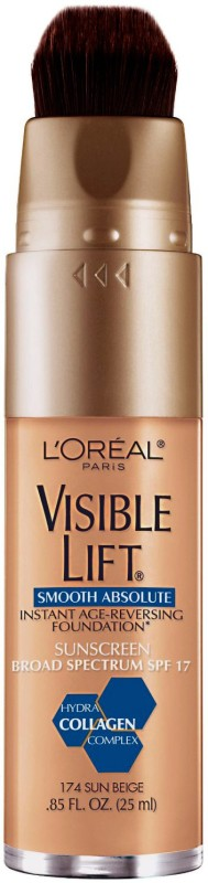 L'Oreal Paris Visible Lift Smooth Absolute  Foundation(Sand Beige-172, 25 ml)