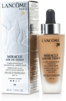 Lancome Miracle Air De Teint Perfecting Fluid SPF 15 Foundation