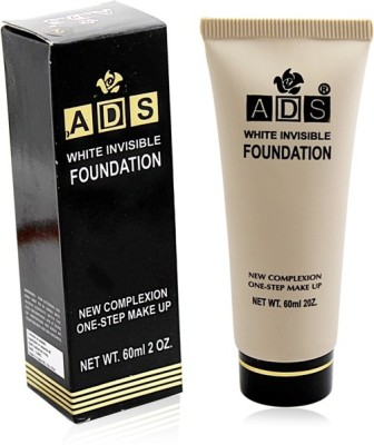 ADS WHITE INVISIBLE FOUNDATION Liner & Rubber Band -PHGU Foundation