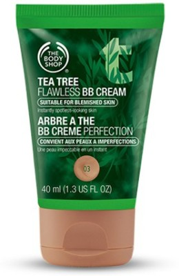 The Body Shop Tea Tree Flawless BB Cream Foundation