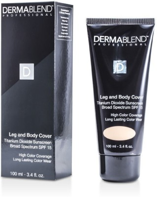 Dermablend Leg & Body Cover SPF 15 (Full Coverage & Long Wearability) Foundation