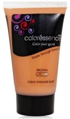 Coloressence Aqua Shimmer Base Brown Foundation