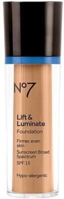 Boots No7 Lift & Luminate Foundation Cool Ivory (SPF15) Foundation