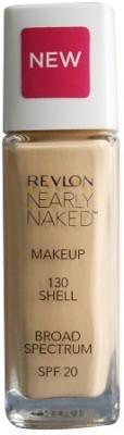 Revlon Nearly Naked Make Up Spf 20 , 130 Foundation(Shell)