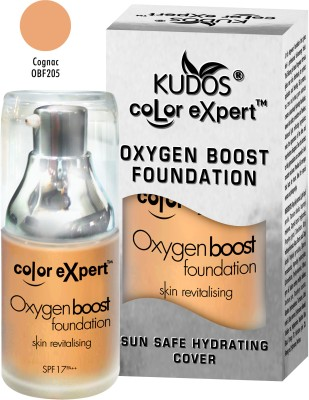 Kudos Color Expert Oxygen Boost Cognac Obf205 Foundation