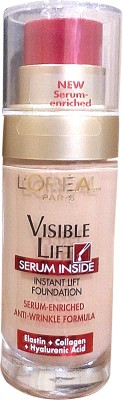 L,Oreal Paris Visible Lift Serum Inside Instant Lift  Foundation