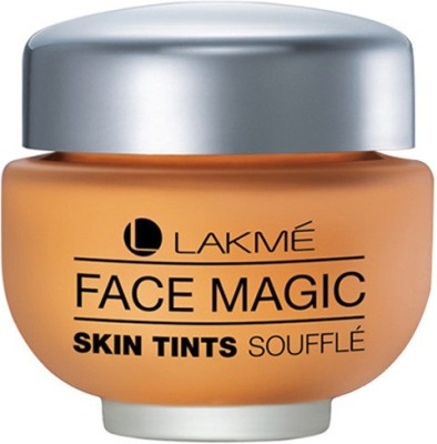 Lakme Face Magic Skin Tints Souffle Foundation(Natural Shell, 30 ml)