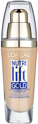 L,Oreal Paris Nutri Lift Gold Anti-Ageing  Foundation