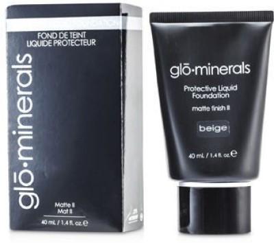 GloMinerals GloProtective Oil Free Liquid Foundation Matte Finish Foundation