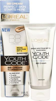 L,Oreal Paris Youth Code Bb Cream Medium Foundation
