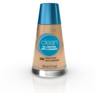 COVERGIRL Clean Oil Control Liquid Makeup, 1.0-Ounce Bottles (Pack of 2) Foundation