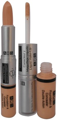 ADS Ads Foundation & Concealer Double Action Foundation