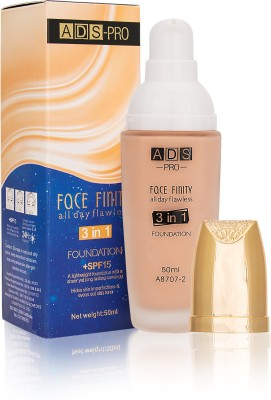 ADS FACE FINITY ALL DAY FLAWLESS 3 IN 1 Foundation