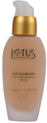 Lotus Natural Blend Comfort Liquid Spf-20 Soft Cameo Foundation
