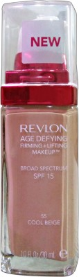 Revlon Age Defying SPF - 15 Foundation(COOL BEIGE - 55, 30 ml)