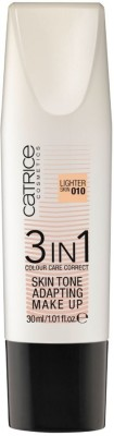 Catrice 3 In 1 Colour Care Correct Skin Tone Adapting Make Up 010-Lighter Skin Foundation